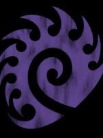 gameshirt_starcraft_2_zerg_vintage_logo_t_shirt